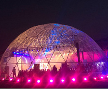 big Circus geodesic dome tent for outdoor party events for 500 people for sale