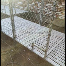 durable poultry shed duck farming plastic slatted floor