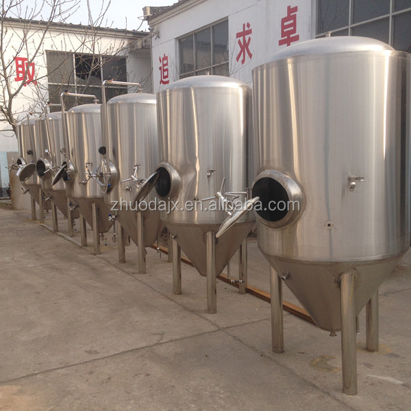 1000L stainless steel beer brewing vessels fermentation vessels for sale