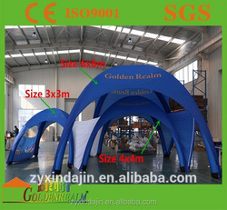 Spidet tent 3x3/4x4/5x5/6x6 inflatable event tent portable party tent