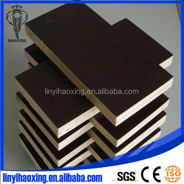 12mm-18mm cycle used film faced plywood for sale from Linyi manufacture