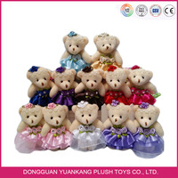 Love Plush Toy Teddy Bears Bouquet For Wedding