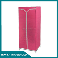 non-woven solid wooden diy storage cube cabinet wardrobe