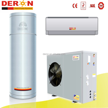 Deron DuctlessAire 17000 BTU Ductless Mini Split Air Conditioner Heat Pump Water heater for cooling hot water