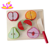 2016 Simulation kids wooden fruit and vegetable toy for kids W10B162