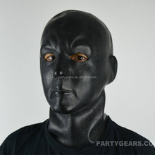 2016 New Sexy Latex Fetish Human Mask Hoods Rubber 3D moulded Masks Head Fancy Headgear Gummi Zentai Wear New SM