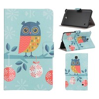 Combo Cut Lovely Painting Leather Tablet Cover for Ipad Air 2 Leather Case with Stand Function
