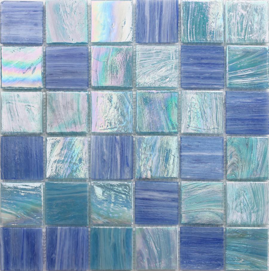Wholesale blue glass bathroom tile - Online Buy Best blue glass ...