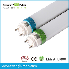 OEM Energy Saving Environmental Protection Tube Lights 160lm/w 18w T8 led tube