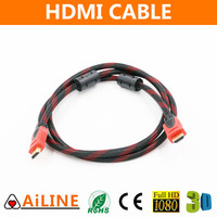 AiLINE Factory Price High Speed 1.4V HDMI Cable AWM 20276 with Ethernet