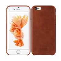 Luxury Genuine Leather Case for iphone 6,back cover for iphone 6, mobile accessories