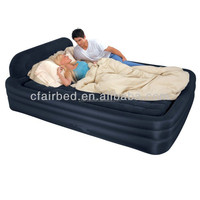 over luxury relax inflatable PVC air bed air sofa bed