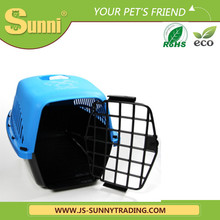 Cute plastic puppy portable kennel