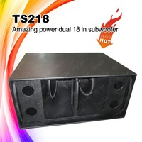 Dual 18 inch Bass Bin Subwoofer Speaker Box 2200W 4Ohms