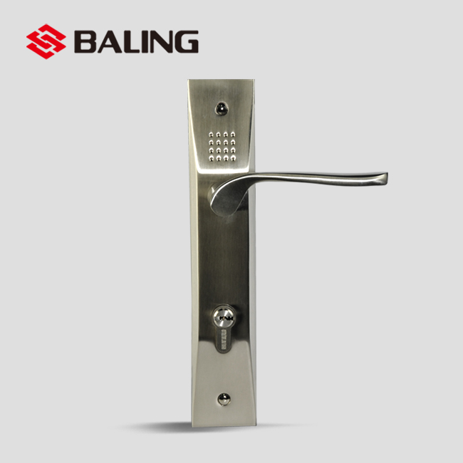 House Door Lock Electroplating Workmanship Villa Key Lock Retro Resort Security Lock