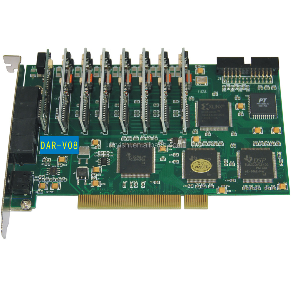 DAR-V08 8CH PCI Phone Record and 8CH Answering Machine