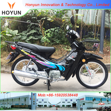 Hot sale in Haiti Cote d'Ivoire Togo Mali Burkina Faso Congo Ghana Double Clutch HOYUN Wvae110 Wave110 DY110 HY110-2 motorcycles