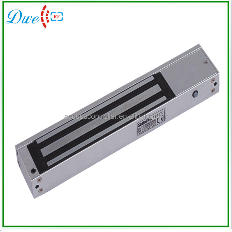 12V or 24V Single door 750KG 1500lbs magnetic electronic door lock for access control system