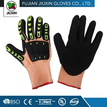 Working Professional Custom-Made Nitrile Coating Bus Driving Gloves