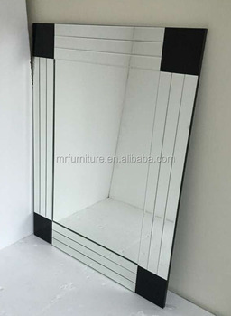 Cheap beveled wall mirror home decorative buy hotel bath for Inexpensive large wall mirrors
