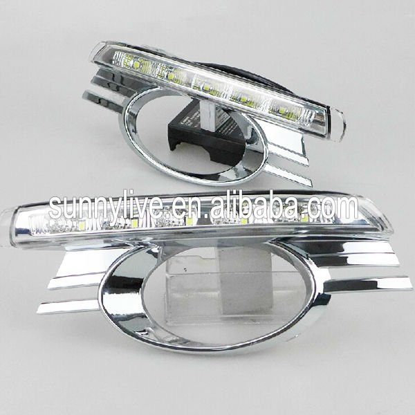 2008-2010 Year For Mercedes-Benz W204 C200 C260 C300 LED DRL Daytime Running Light