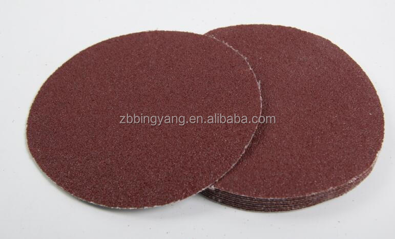 adhesive round sand paper disc for sanding and polishing