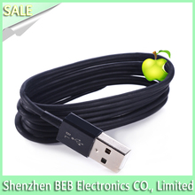 100% Genuine MFI certificated 8 pin usb data cable for iphone 5 charger cable 2.4A for iPad/mini Ipad Ipod