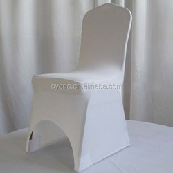 cheap modern spandex lycra chair cover with arch