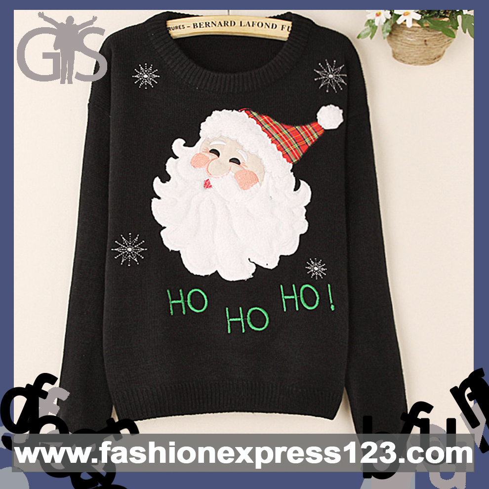 2015 Specialized Prints for Women christmas sweater patterns Pullover
