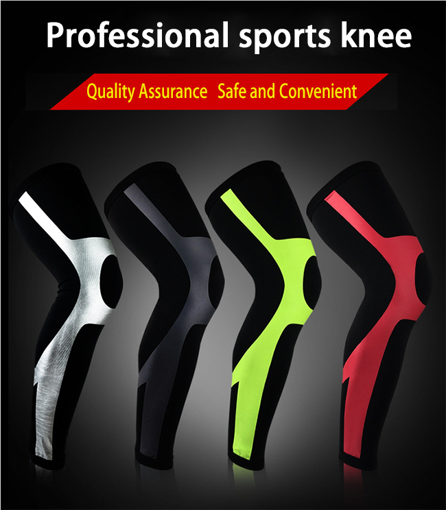 ISO Approved Neoprene Knee Support, Compression Knee Sleeve for Weight Lifting, Crossfit, Powerlifting