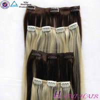 7A 8A 9A no tangle no shedding Tangle Free Non Clip Hair Extensions