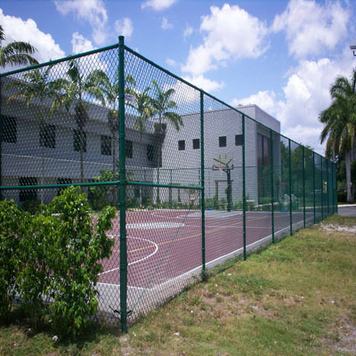 g90 galvanized steel how to do chain link fence made in China