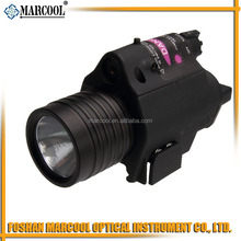 M6 Tactical LED Flashlight with Red Laser Sight