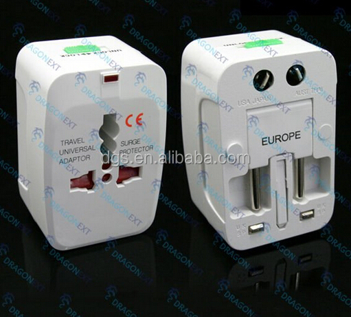 Universal Travel Adapter US AU UK to EU Plug Travel Wall AC Power Adapter Socket Converter