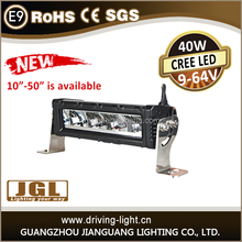 2016 new arrival !! 4x4 accessory Wholesale high lumin cree 10w led offroad light bar ,10inch-50 inch waterproof IP67