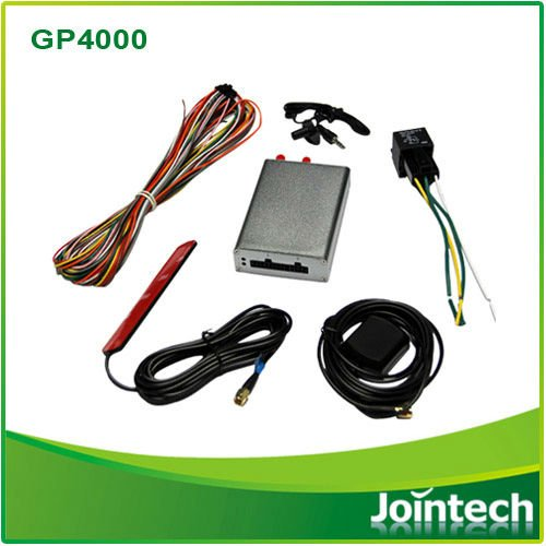 GPS tracking system with dispatch screen and thermo sensor