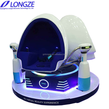 Hot Sale Amusement Longze 5D Motion 9D Egg Vr Racing Reality Virtual Cinema Roller Coaster Simulator