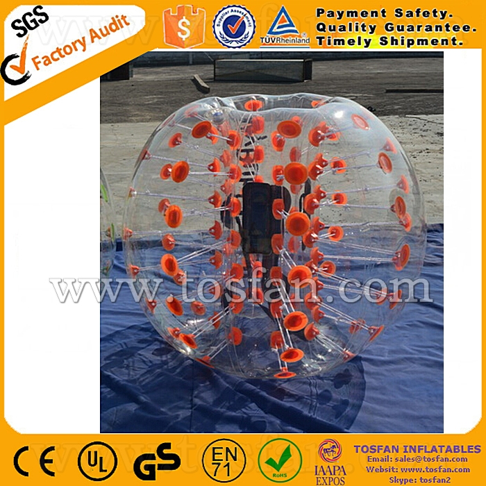 New products inflatable body bumper soccer bubble TB243