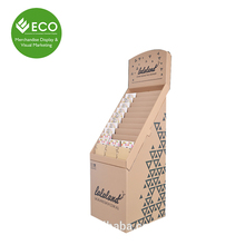 Cardboard Corrugated Greeting Card/Business Card Display Stand
