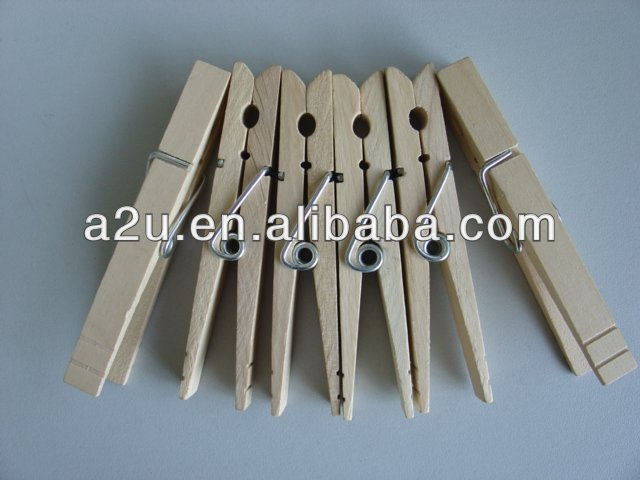 wooden cloth clips clothes pegs