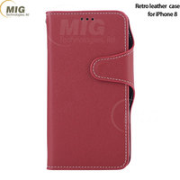 PU leather wallet mobile phone case for iPhone 8 7 7plus 6plus 6 leather phone bag hot products to sell online