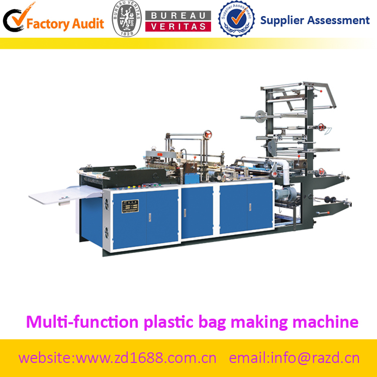 Multi-function Mailing plastic bag making machine