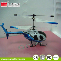 Great wall rc toys 2.4Ghz 4 channel double Blade remote control helicopter rc helicopter with Gyro
