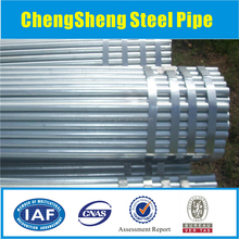 "1/2""-4"" pre-galvanized construction material BS1387 hot dipped galvanized steel pipe"