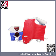 Professional Taekwondo Reversible Red And Blue Taekwondo Chest Guard For Wholesale