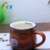Wholesale cheap color glazed coffee mug for promotion