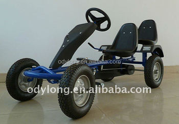 2 seat adult pedal go kart