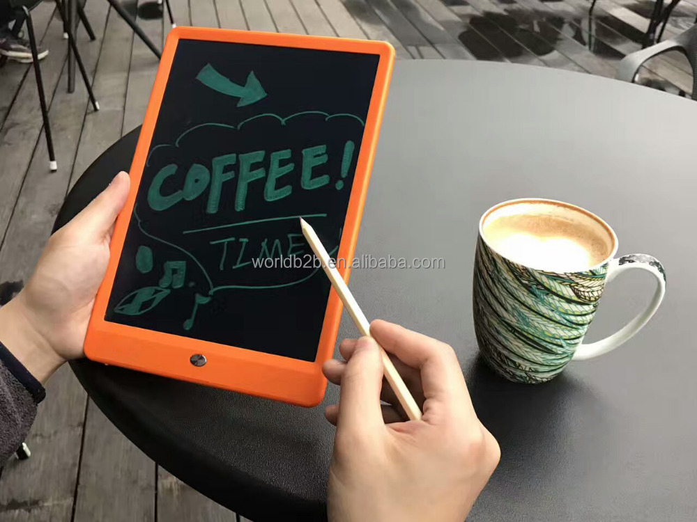 "High Brightness 10"" LCD Writing Tablet Drawing Board Paperless Digital Notepad Rewritten Pad for Draw,Note,Memo,Message,Draft"