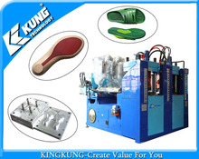 TR Double color outsole making machine/shoe making machine