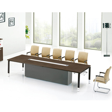 Competitive price steel frame 20 person conference table design